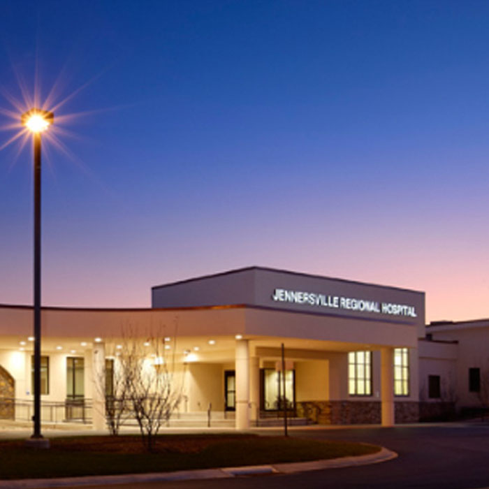 HOSPITAL EMERGENCY POWER SYSTEM UPGRADE - Bass worked with Premium Power Services to complete an emergency power system upgrade on the Jennersville Regional Hospital in West Grove, PA.