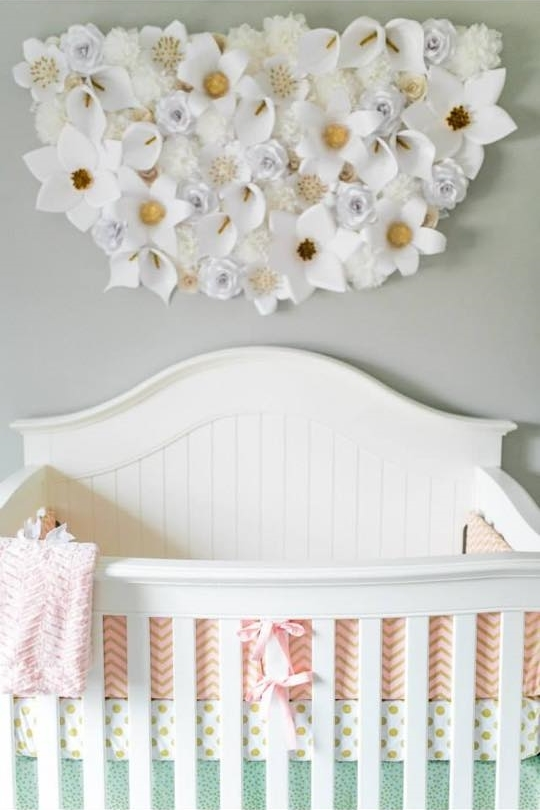 Nursery Decorations Baby Girl