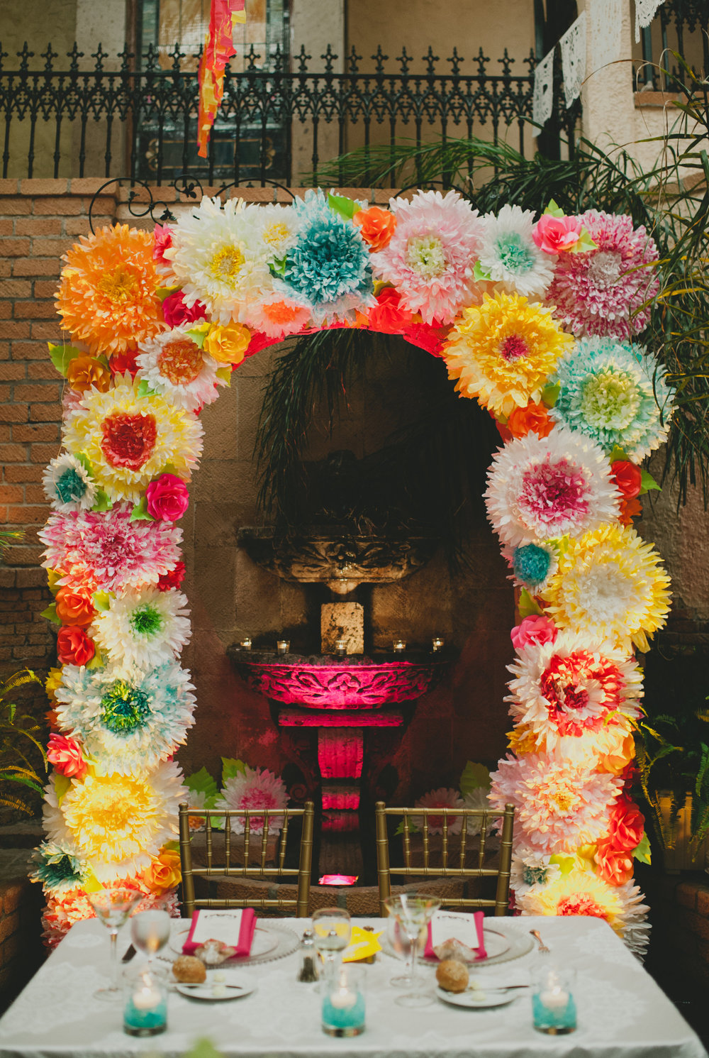Mexican Wedding Arch