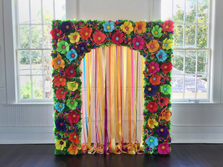 Mexican paper flower arch paper flowers mexicanpaperflowerarchg mightylinksfo