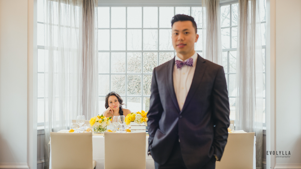 Alternative First Look at Head Table Creative Wedding Editorial