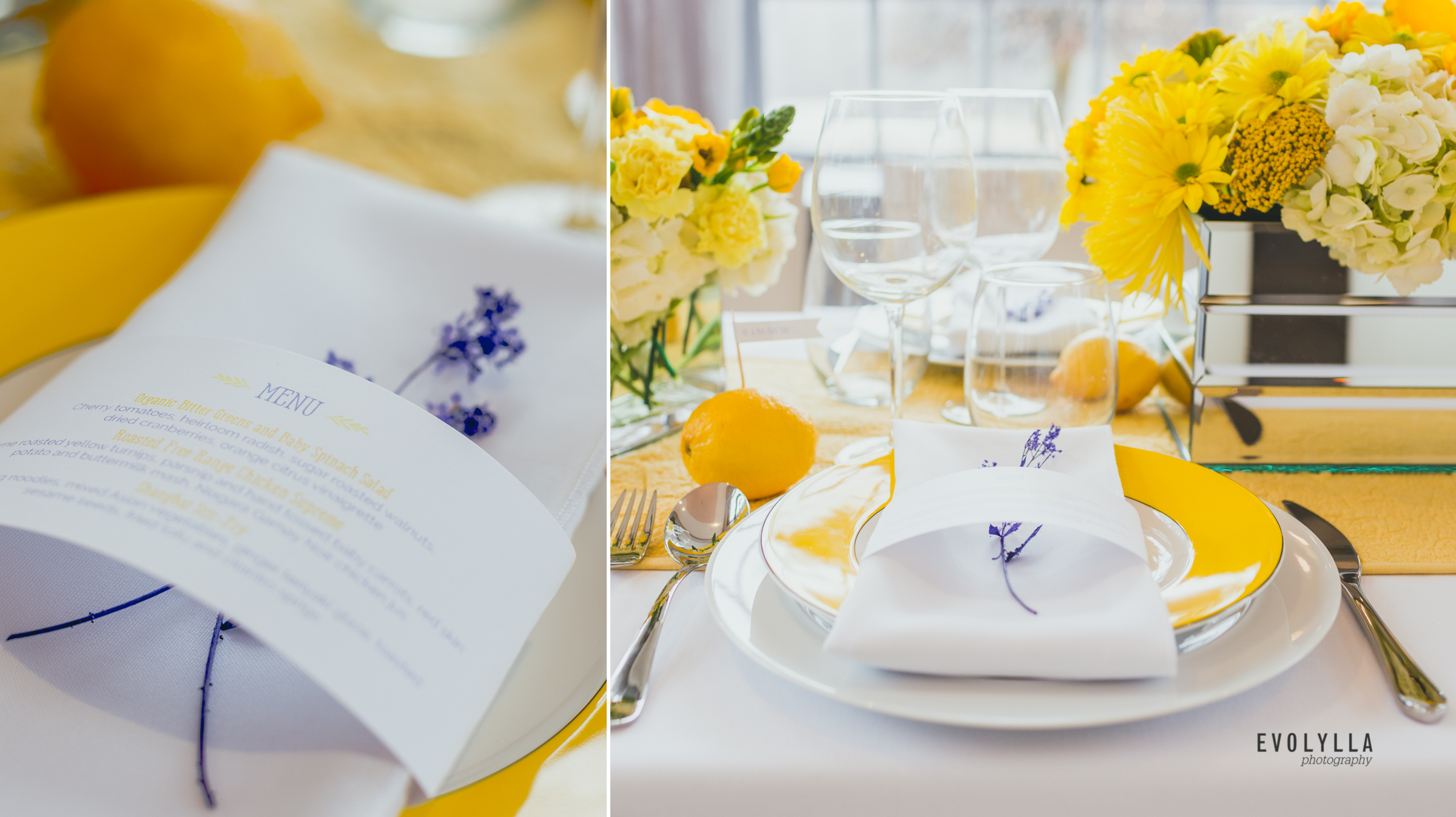 Sunnybrook Estates Wedding Creative | Lemon Party with a Touch of ...
