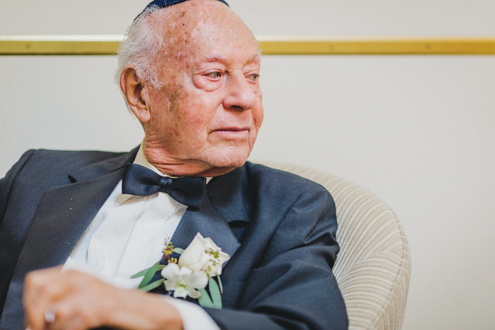 Jewish Wedding Photo Grandfather