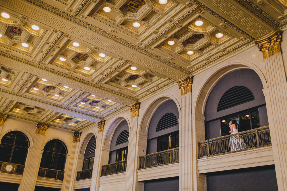 Great Architecture Interior in Toronto for Wedding Photo