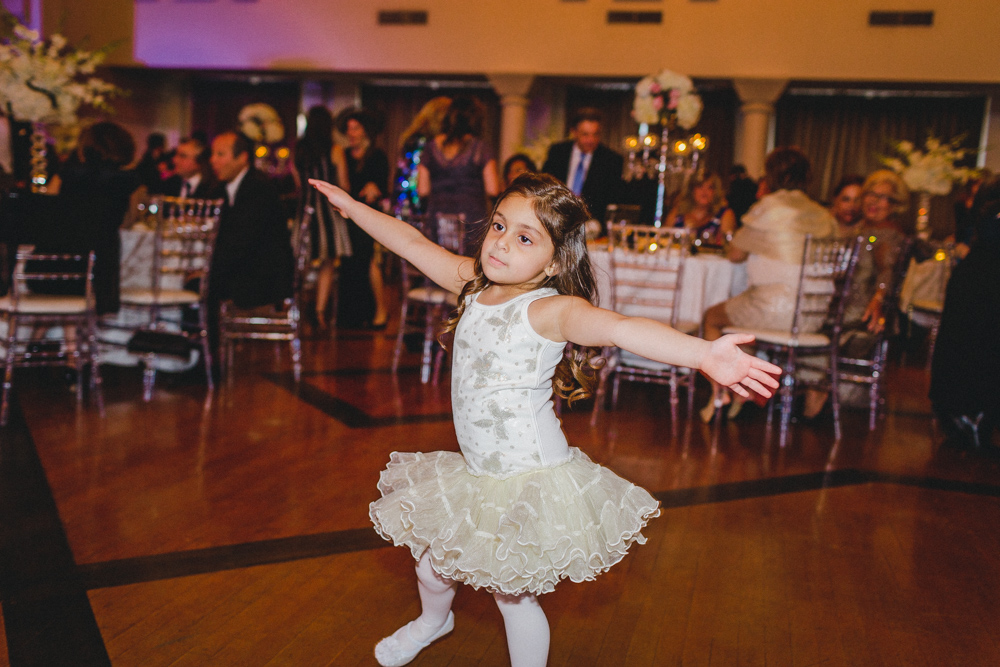 Sephardic Kehila Centre Wedding Dance Floor Humour Little Girl Dancing