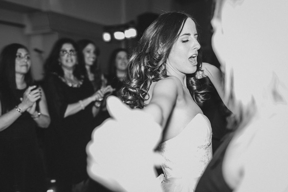 Bride at Dance Floor Photo