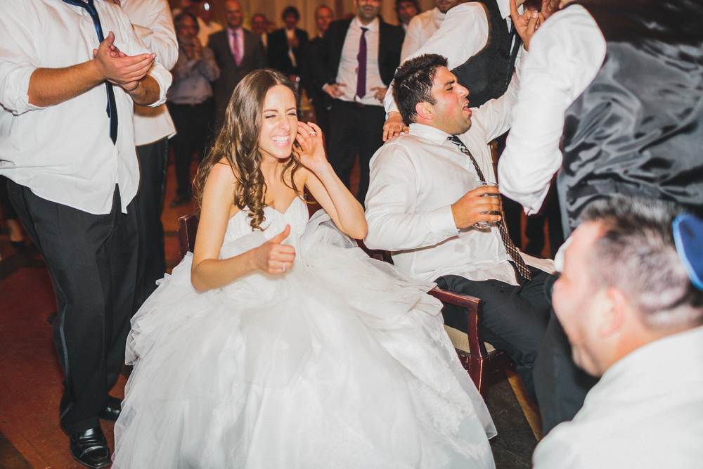Jewish Wedding Dance Floor Bride and Groom