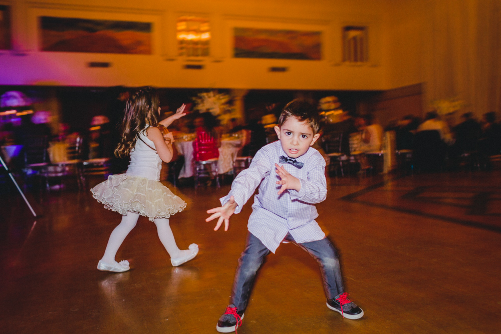 Sephardic Kehila Centre Wedding Dance Floor Humour Children Photo