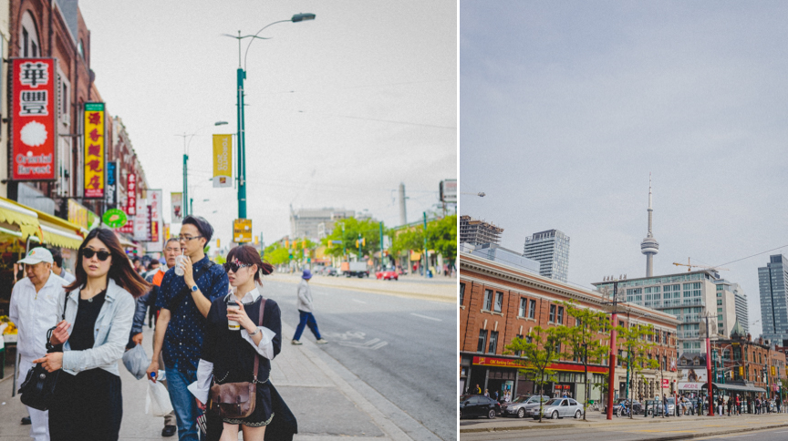 Downtown Toronto Engagement Neighbourhood Walk