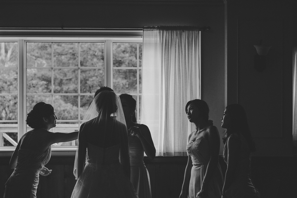 Silhouette Wedding Photos