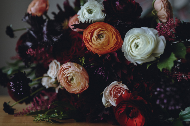 Botany Floral Studio wedding bouquet