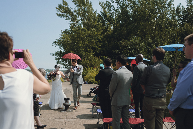 wards island wedding