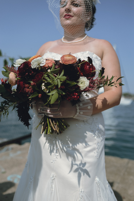 Toronto Islands wedding pictures