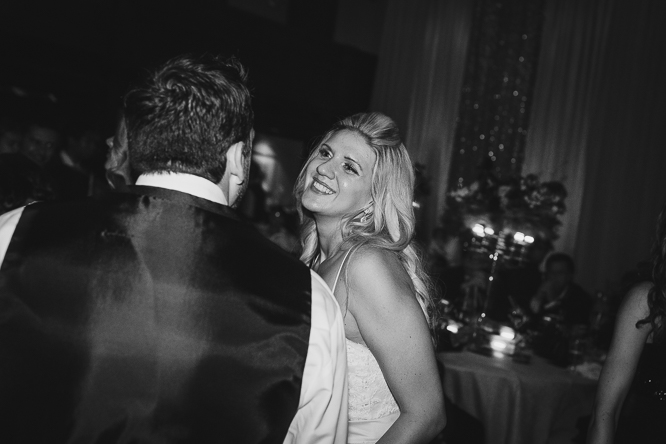 bride and groom on dance floor pictures