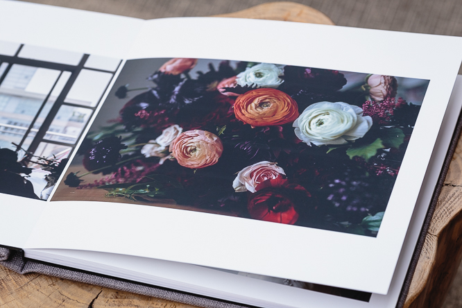 wedding albums - high quality deep matte photographic paper
