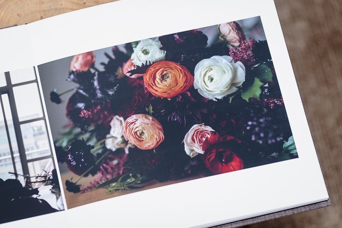 wedding albums - Fuji deep matte paper features a completely smooth surface and its additional details in the blacks make the pictures pop