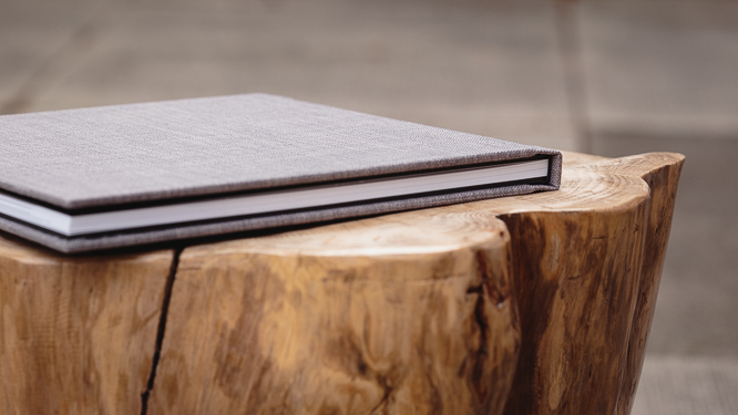 wedding albums - hand-crafted cover and binding guarantee durability and a high-end finish
