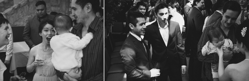 the best candid pictures from a wedding