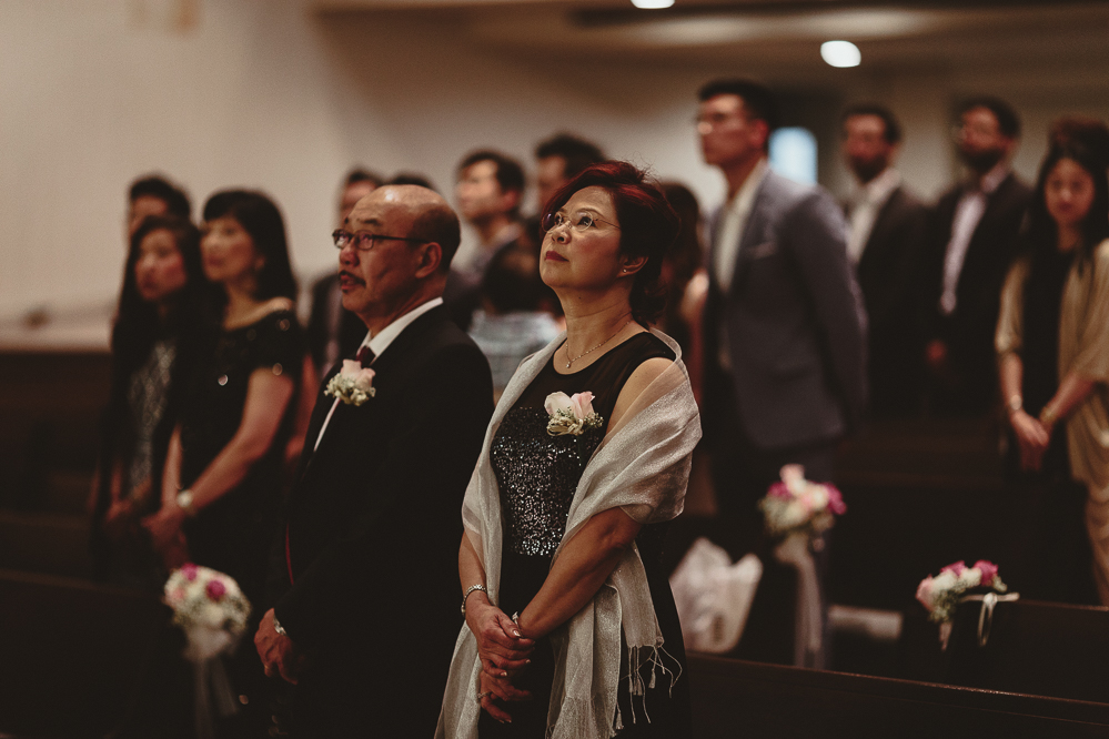 creative church wedding ceremony photography