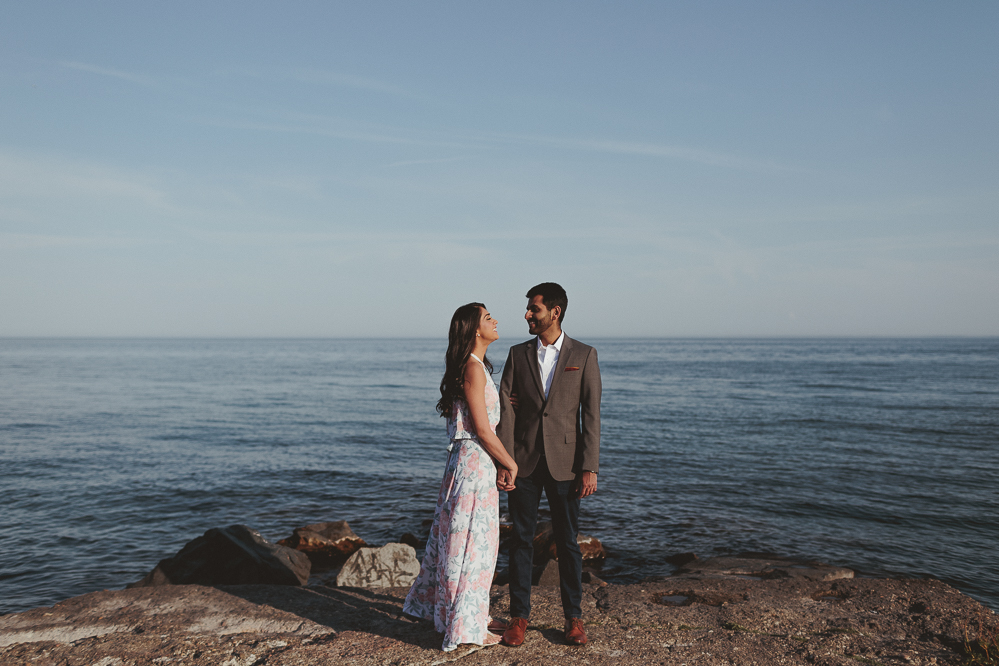 toronto island wedding engagement