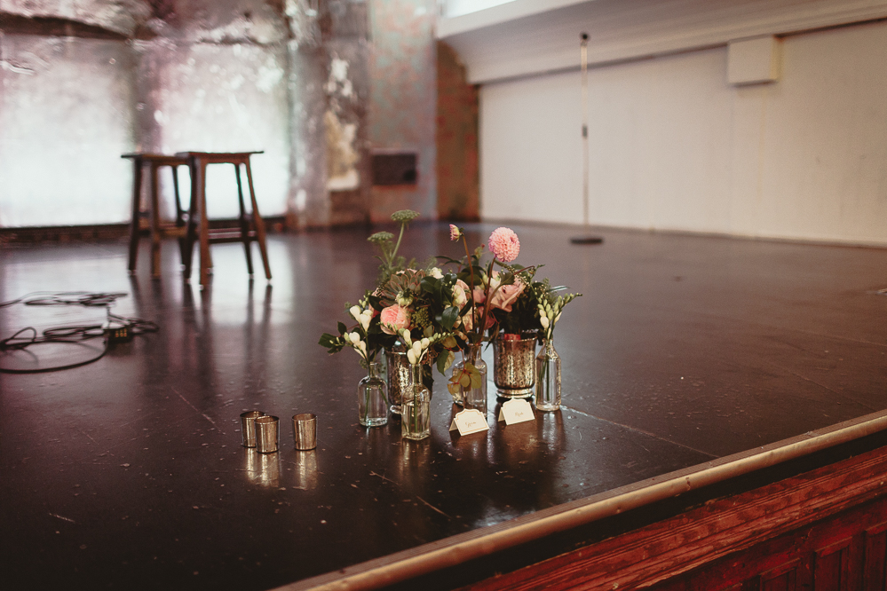 berkeley church rustic city wedding