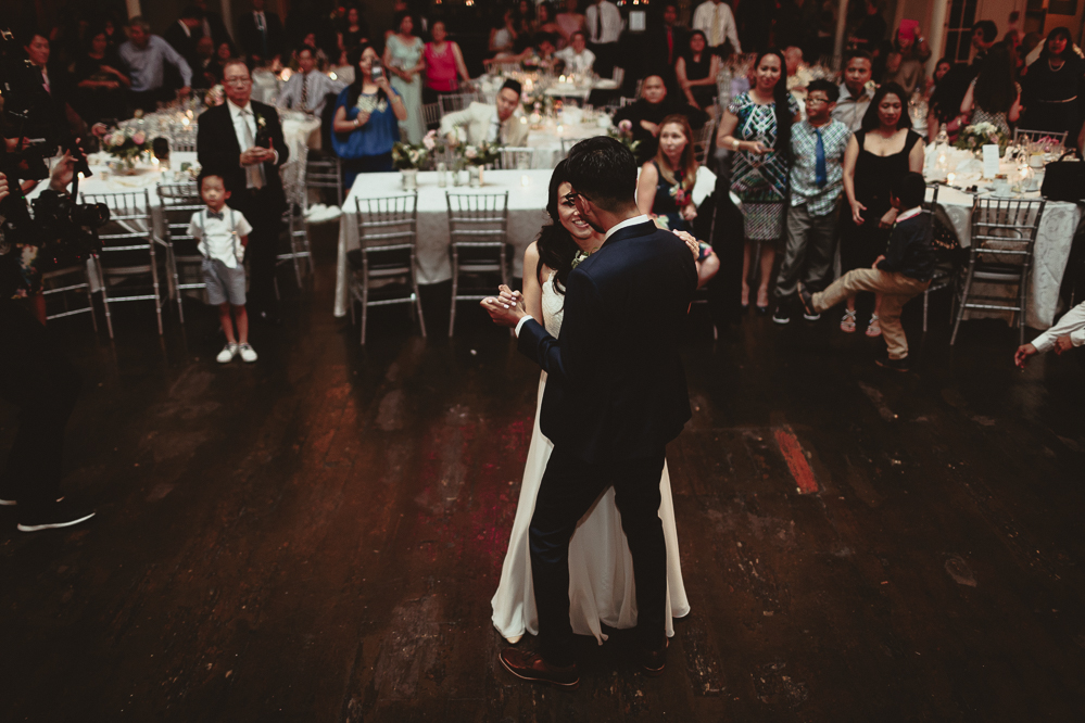 berkeley church wedding - first dance