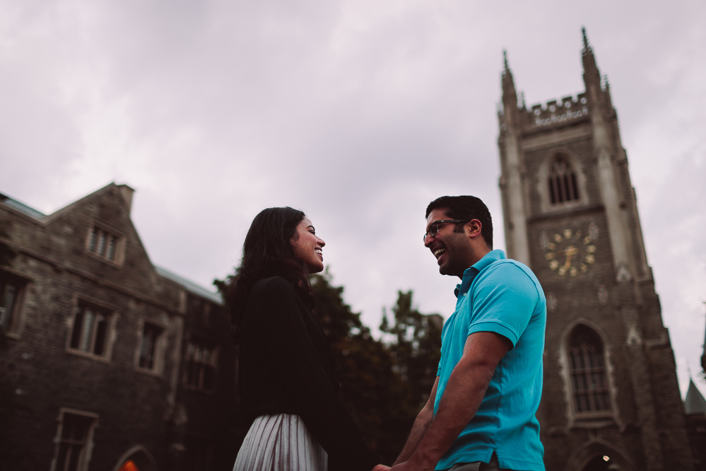 hart house engagement photos