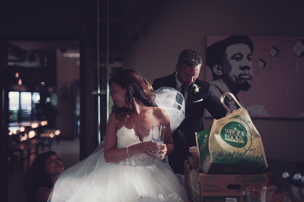 candid wedding photographer steamwhistle wedding