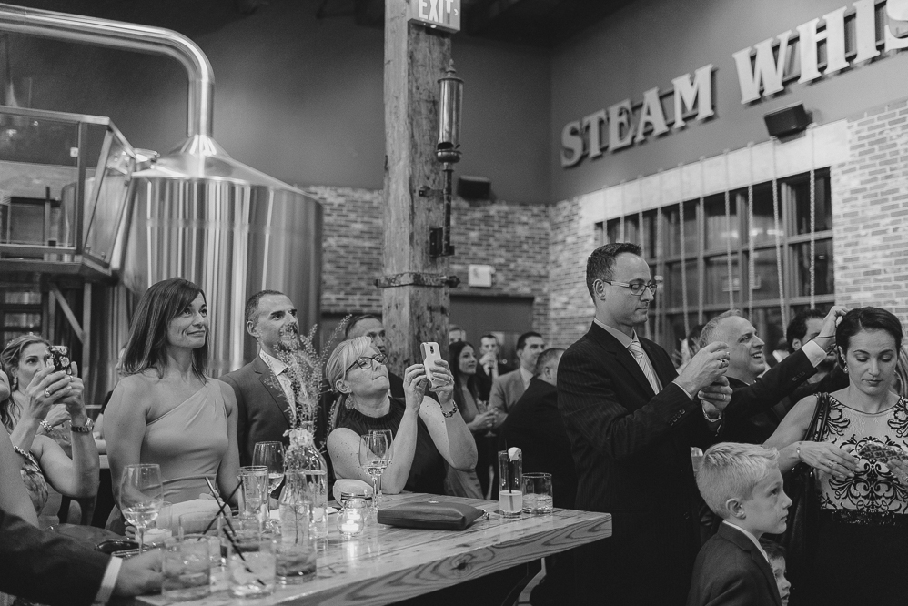 steamwhistle wedding black and white photographer