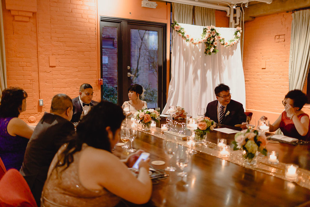 Restaurant Wedding Toronto