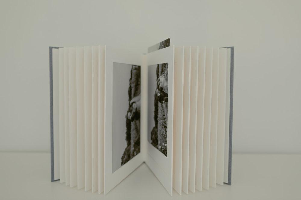 Slip-in album for 8 x 10 prints.