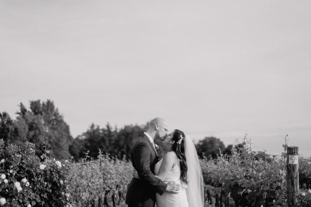 Niagara on the lake winery wedding