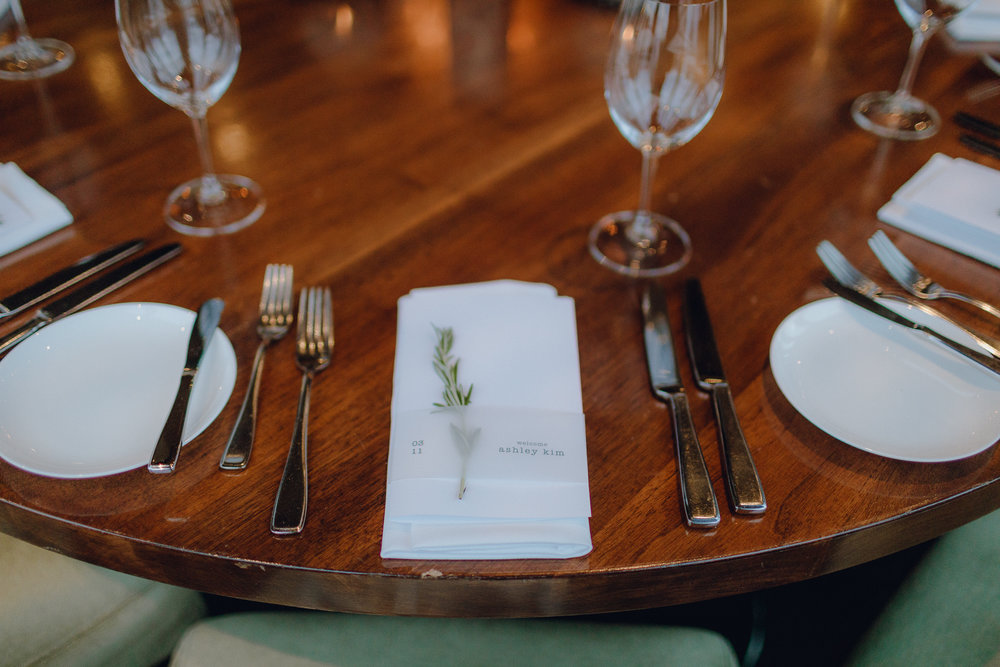 If you're into a minimalistic wedding but are afraid that things might look dull, a restaurant wedding is perfect because the space already comes with its characteristics. A little personal touch is often enough to make the occasion unique and memorable to both you and your guests.