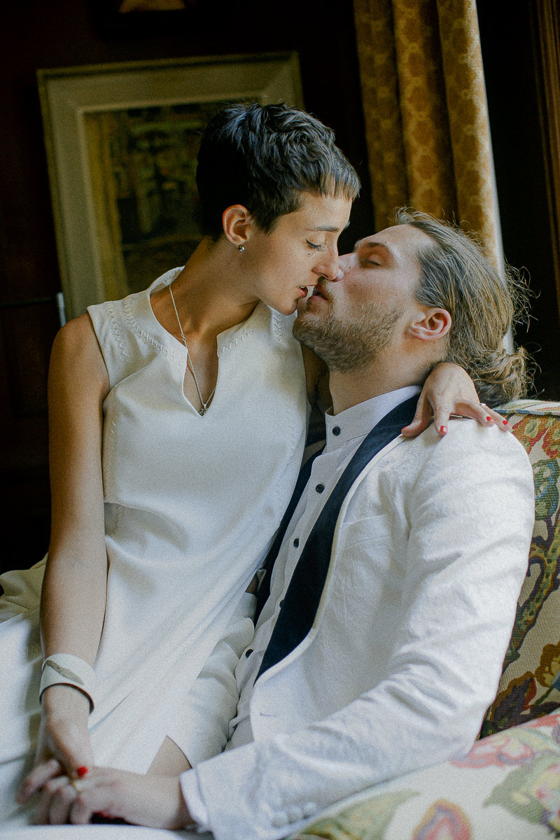 An intimate moment captured by Toronto Wedding Photographer