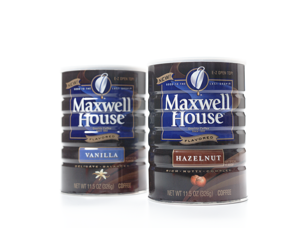 Maxwell House flavored coffee. Done while at Landor NYC