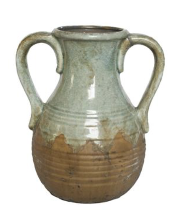 Cossart Design Foystokes Rustic Vase W Curved Handle Large