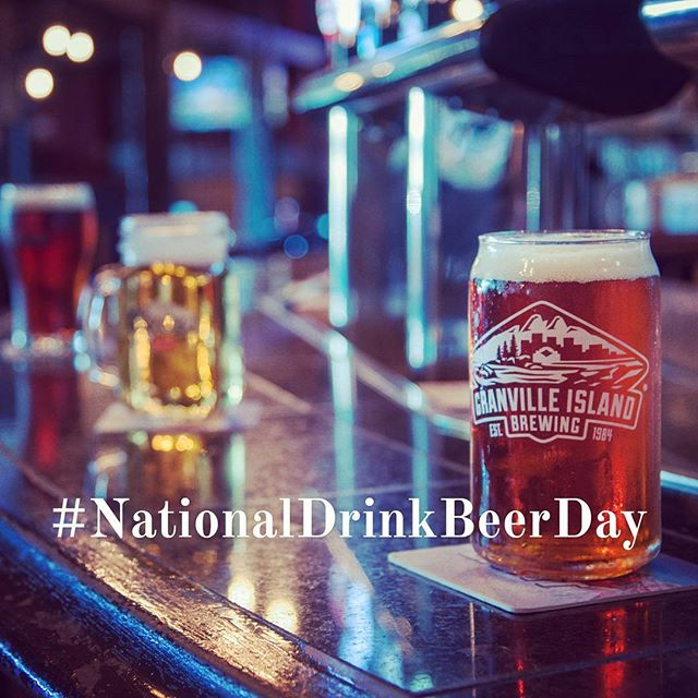 #NationalDrinkBeerDay what a beautiful national day to have! Let's celebrate!!