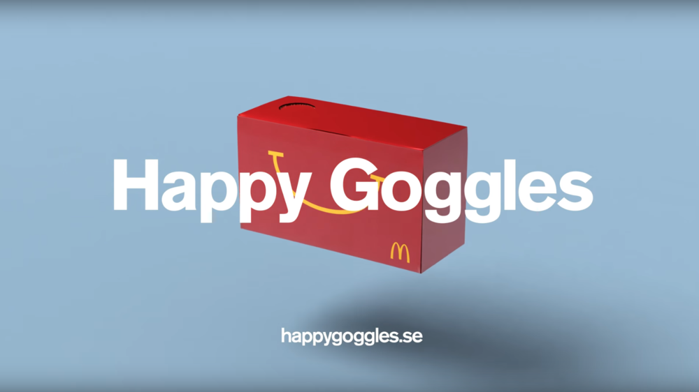 Happy Goggles Virtual Reality Happy Meal Box.png