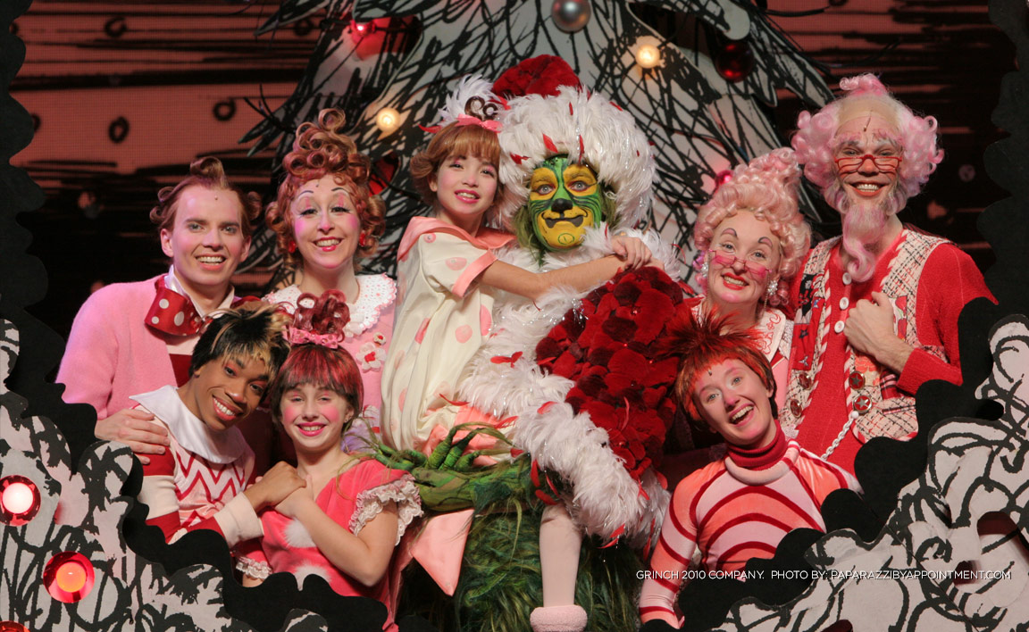 cast2jpg - How The Grinch Stole Christmas Cast