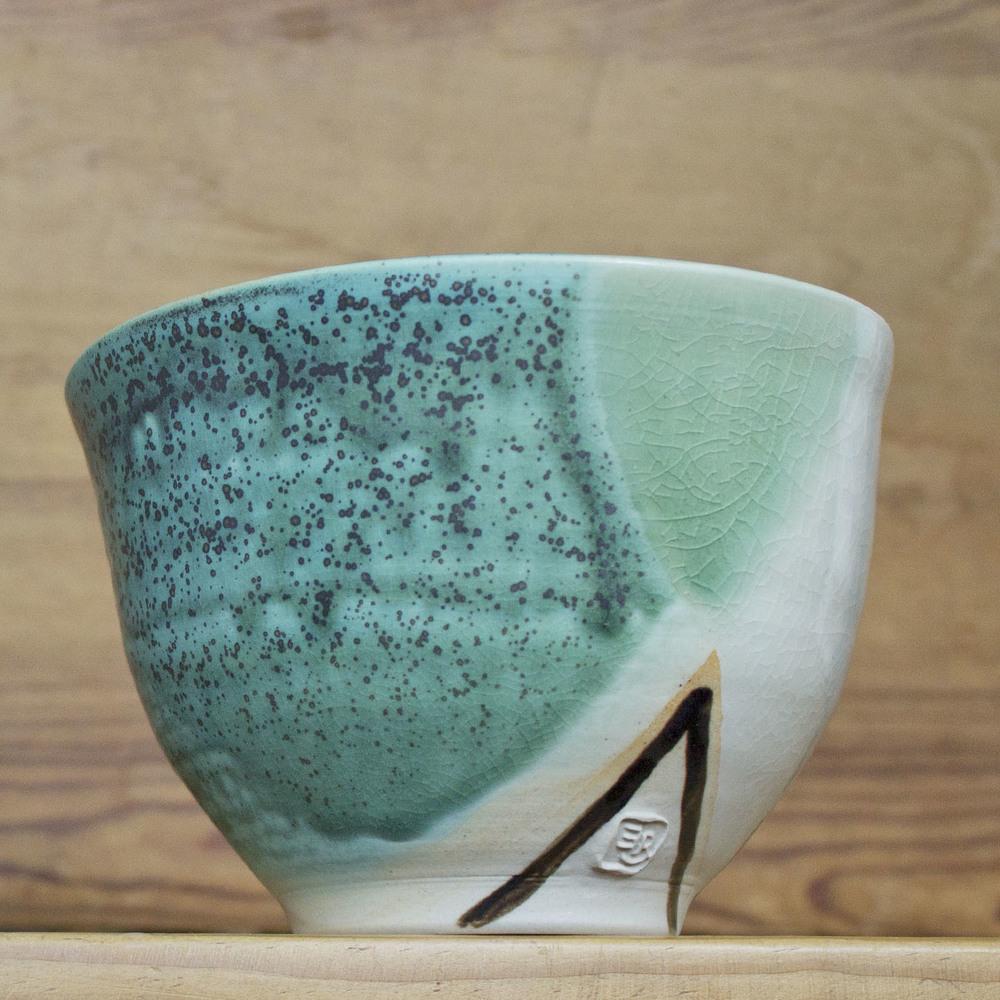 """Medium Bowl 016, $22 (diameter: 5.5"""")"""