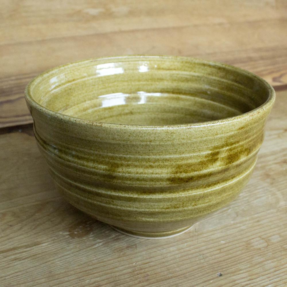 """Medium Bowl 049, $15 (diameter: 6.5"""")"""