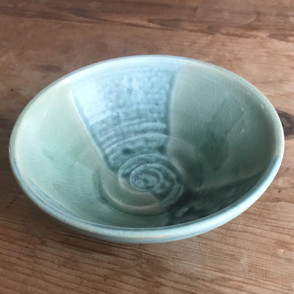 """Small Bowl 051, $15 (diameter: 5.25"""")"""