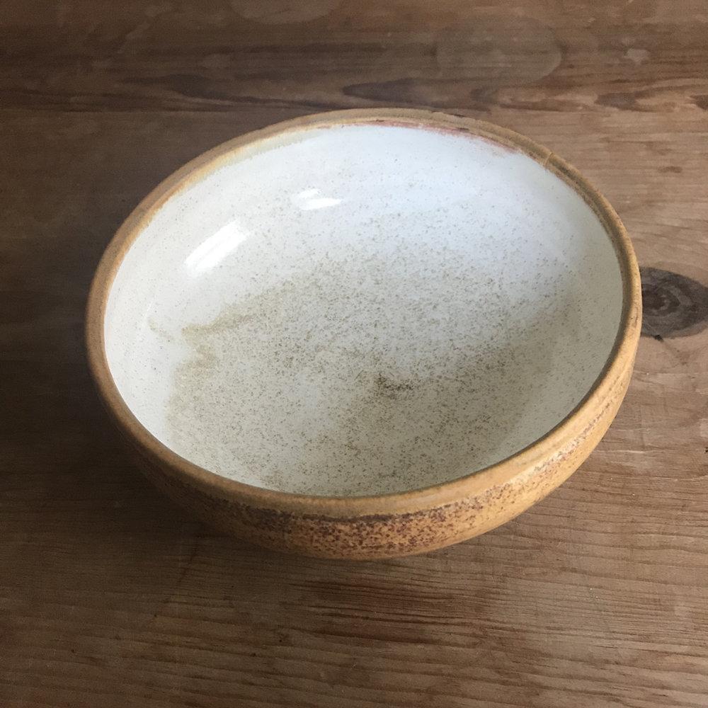 """Medium Bowl 055, $20 (diameter: 5:75"""")"""