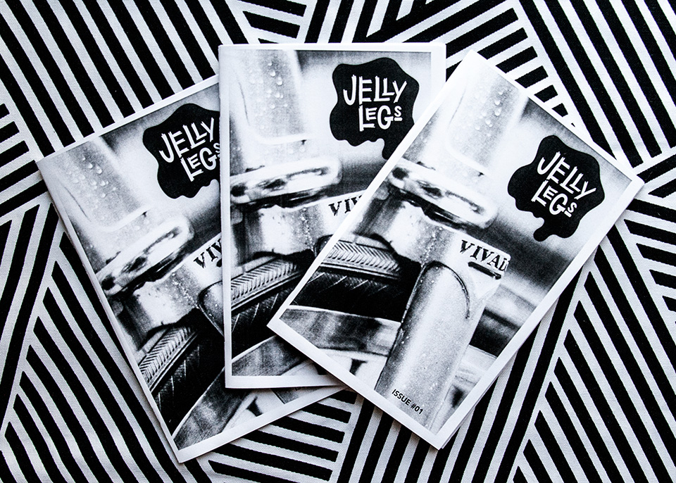 Jelly Legs Zine - image 2 - student project