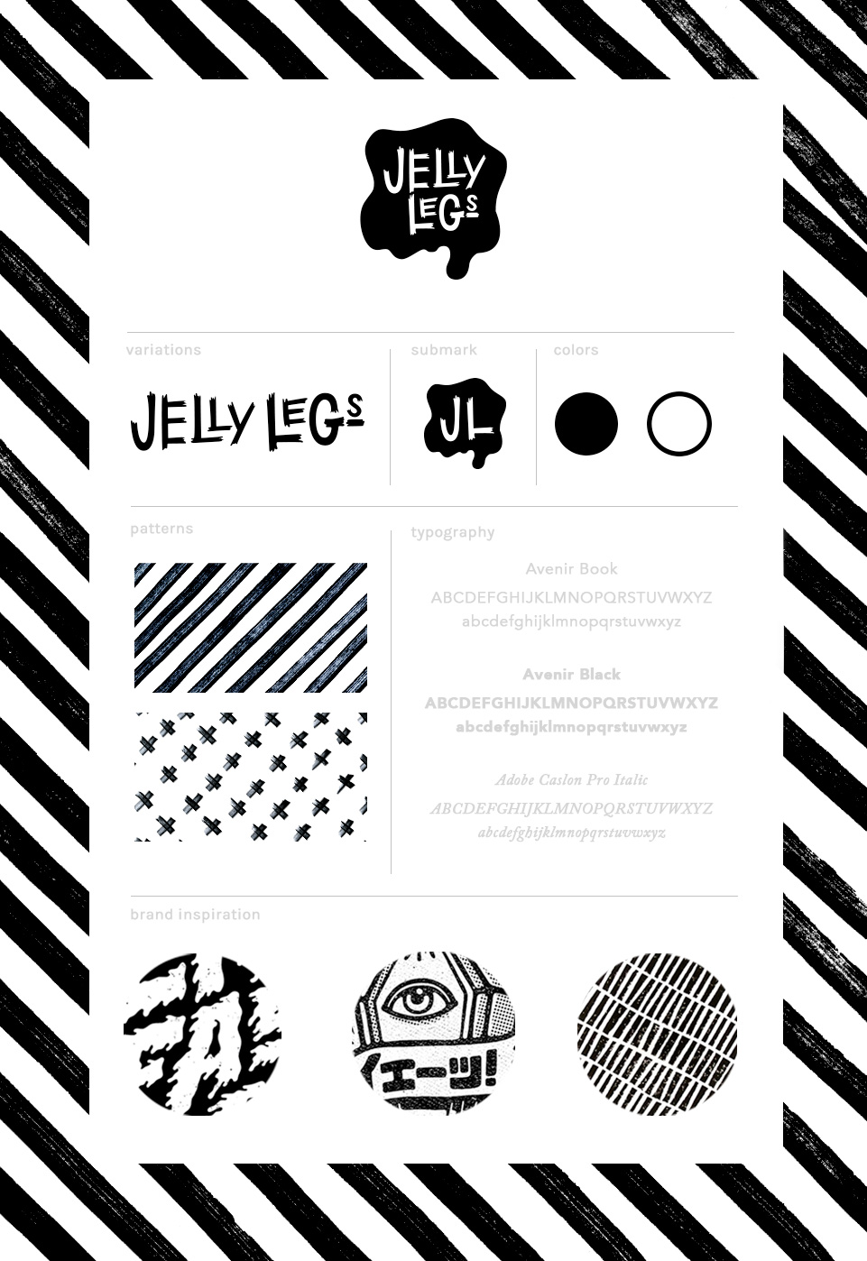 Jelly Legs Zine - image 9 - student project