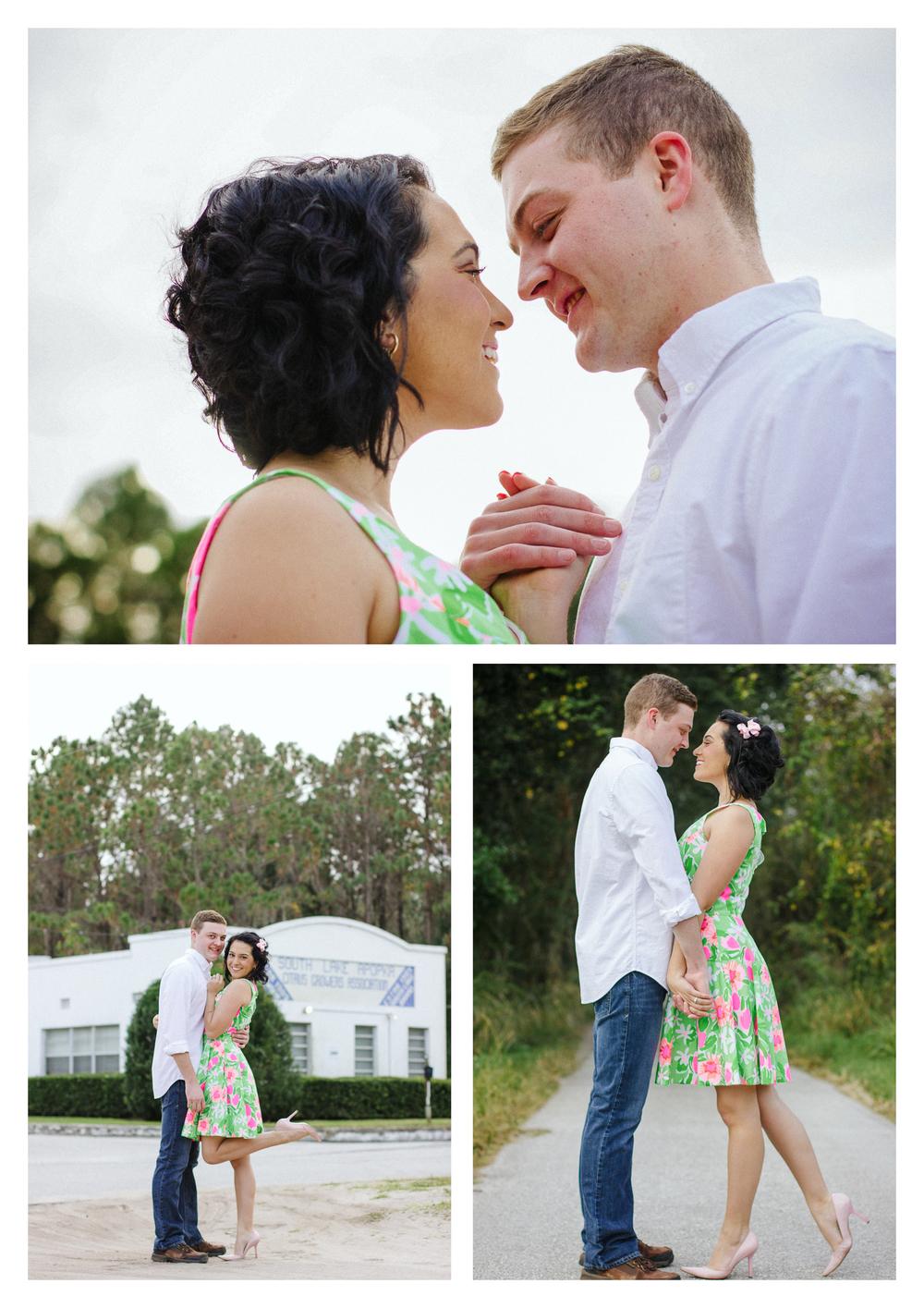 Matt + Victoria | Military Engagement Shoot | www.kristalajara.com