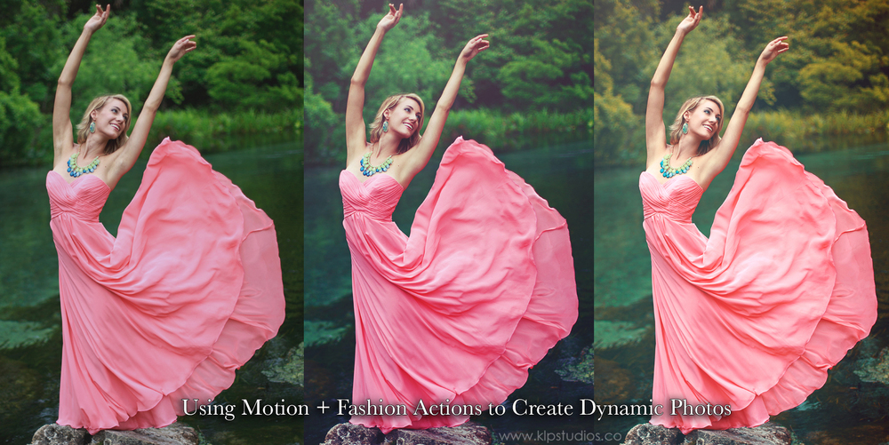 Motion + Fashion Actions | www.klpstudios.co