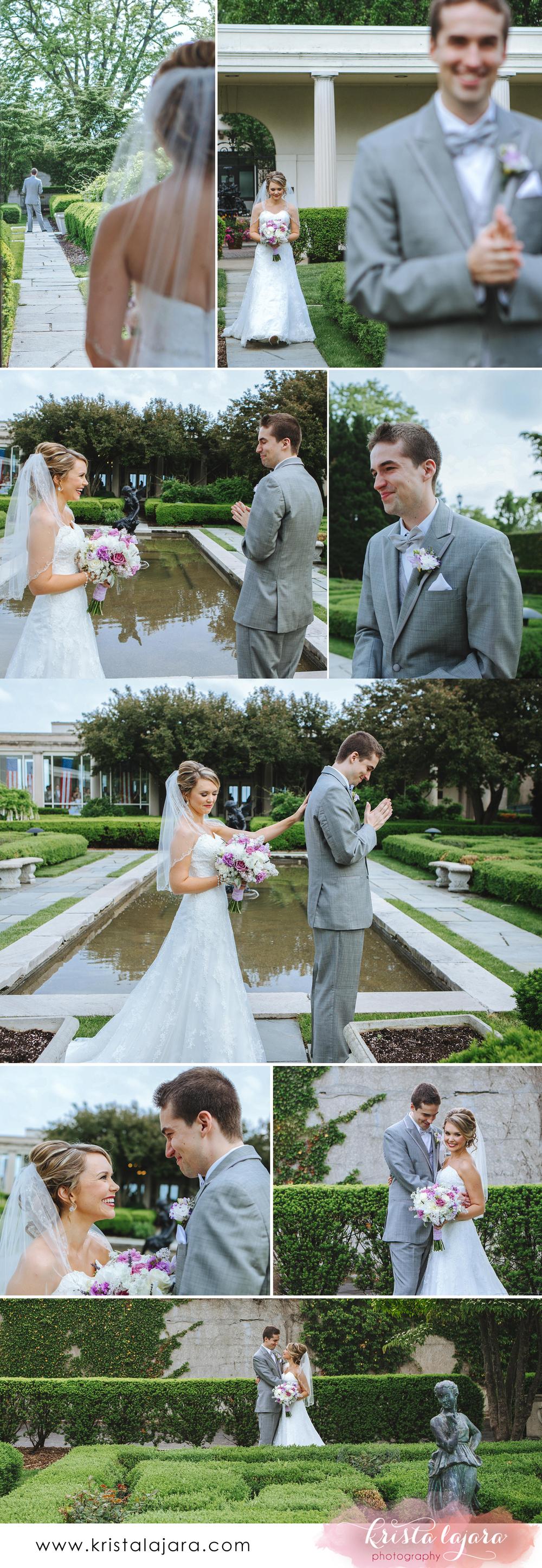 Krista Lajara Photography | www.klpstudios.co | Michigan Wedding: First Look