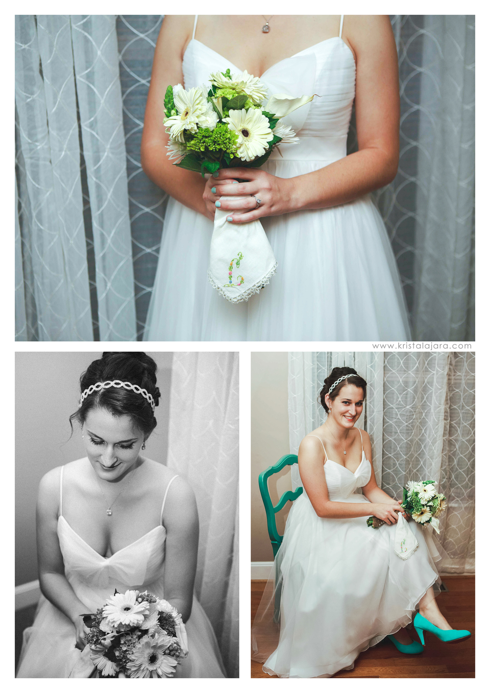 Deanna + Austin Wedding in Charleston, WV | www.kristalajara.com
