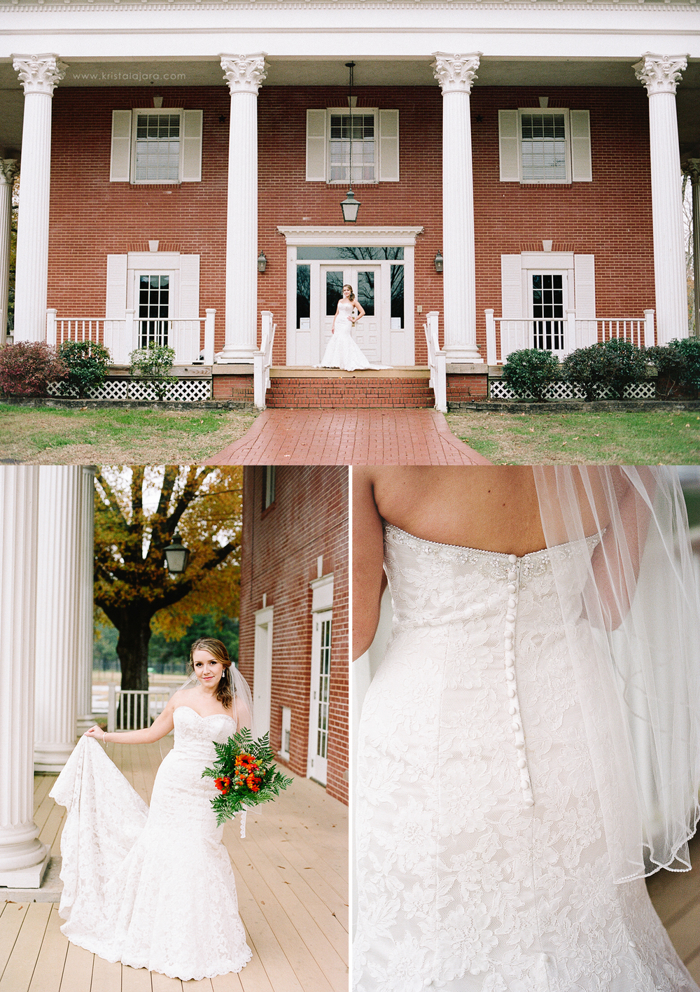 Chattanooga, TN Bridal Session | www.kristalajara.com